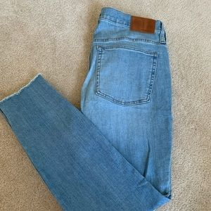 J.Crew skinny button fly jeans Size 31